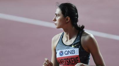 Ласицкене начала подготовку к летнему легкоатлетическому сезону