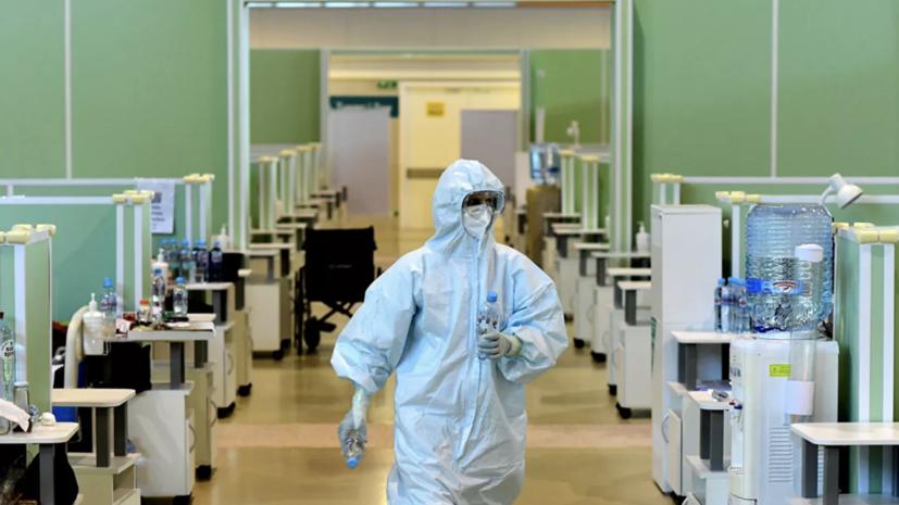В России за сутки выявили 9169 случаев коронавируса