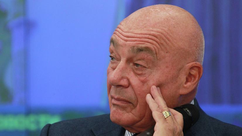 Sputnik: Познер покинул Грузию после протестов
