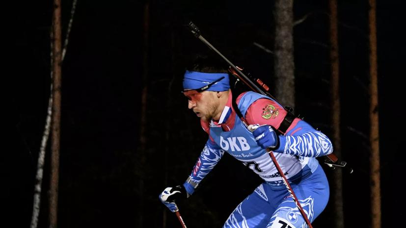 Сучилов отреагировал на дисквалификацию в гонке преследования на ЧР по биатлону
