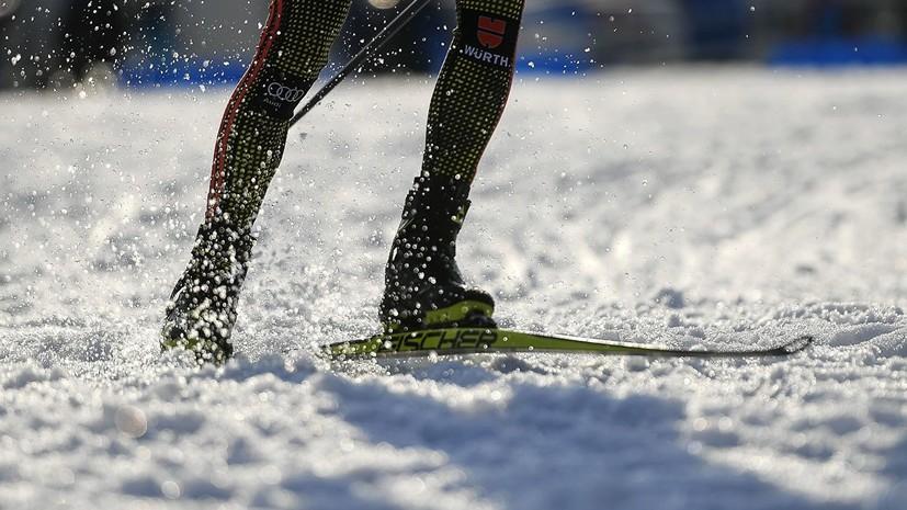 Лыжники, устроившие потасовку на чемпионате России, помирились