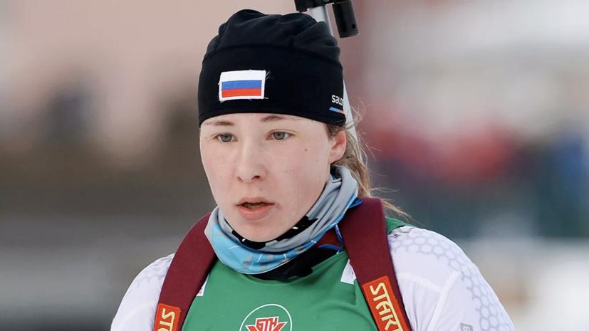 Ушкина, перешедшая в сборную Румынии, победила в гонке преследования на ЧР