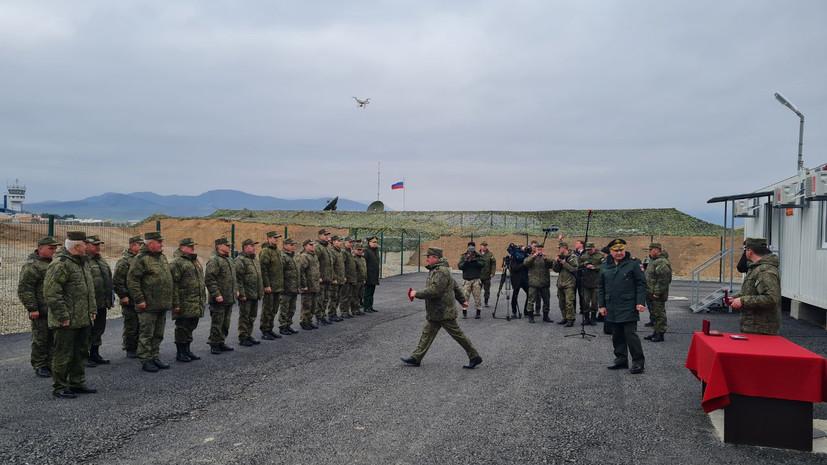 «Все наши миротворцы будут обустроены»: замминистра обороны РФ проверил строительство военных городков в Карабахе0