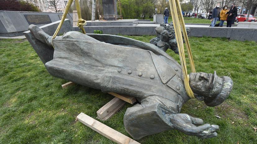 Москва рассчитывает на разрешение ситуации с памятником Коневу в Праге