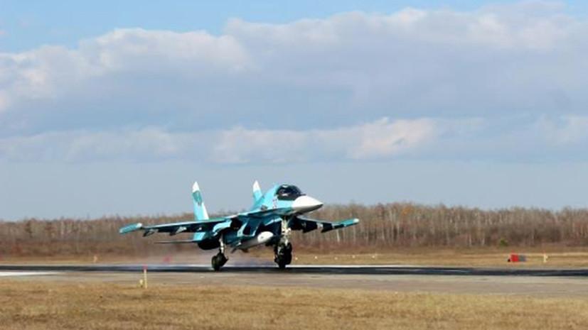 В Хабаровском крае прошли учения ВВС и ПВО