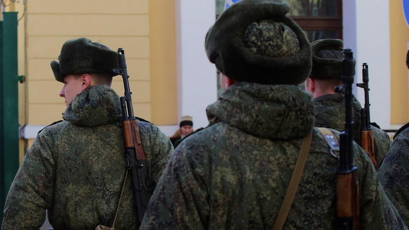 В ДНР объявили первый в республике призыв на военную службу