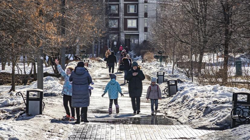Голикова оценила демографическую ситуацию в России