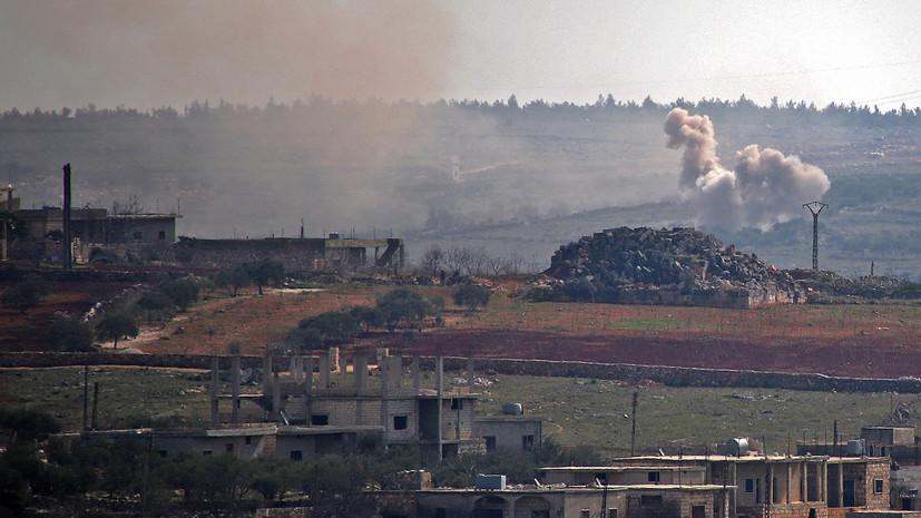 Террористы совершили 30 обстрелов в идлибской зоне деэскалации в Сирии