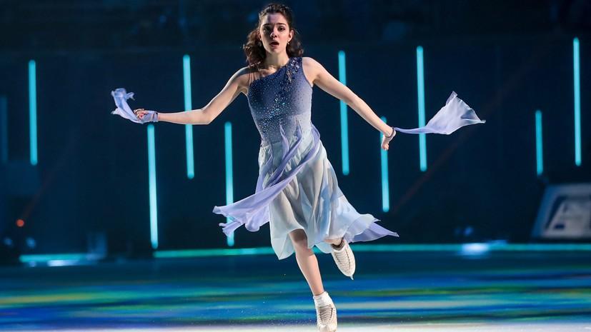 Медведева — о прыжках на шоу Тутберидзе: я стараюсь себя не форсировать