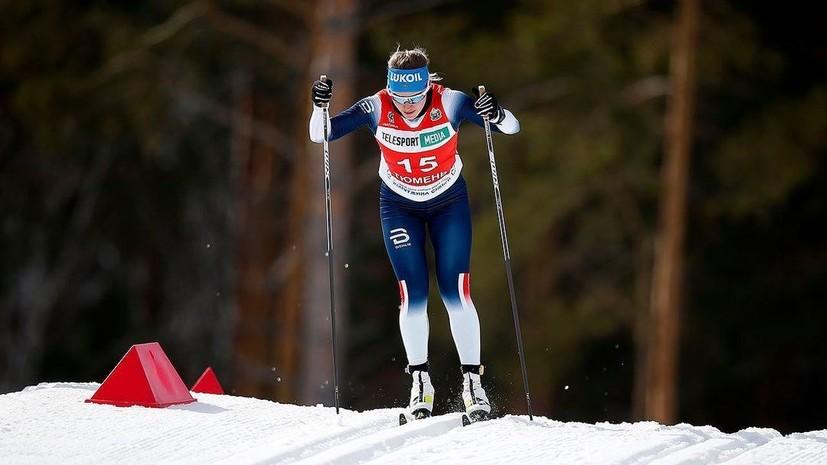 Шимолина заявила, что на её форме нет символики сборной Норвегии