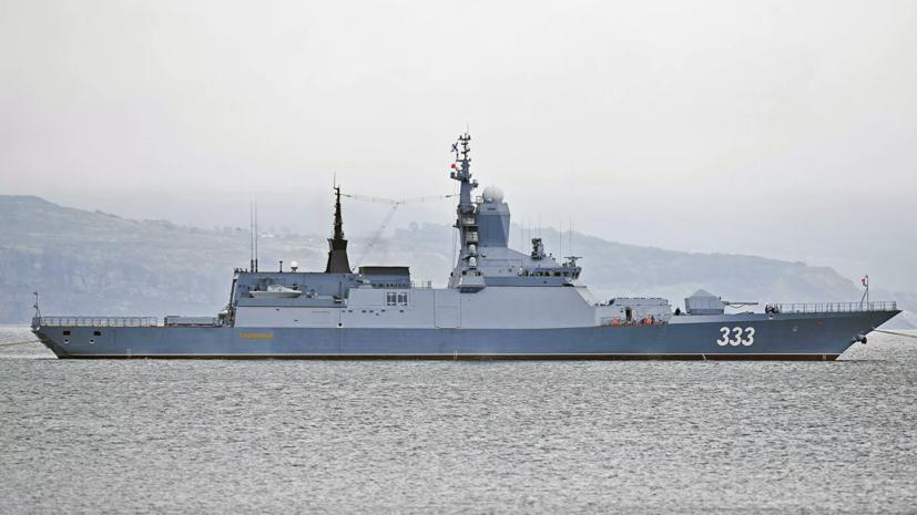 Корабли Тихоокеанского флота провели учения в Японском море