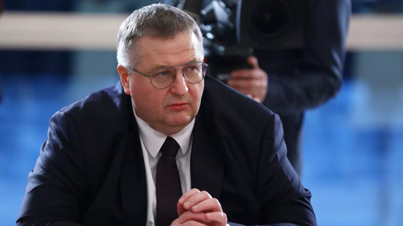 Оверчук провёл встречу с первым вице-премьером Белоруссии