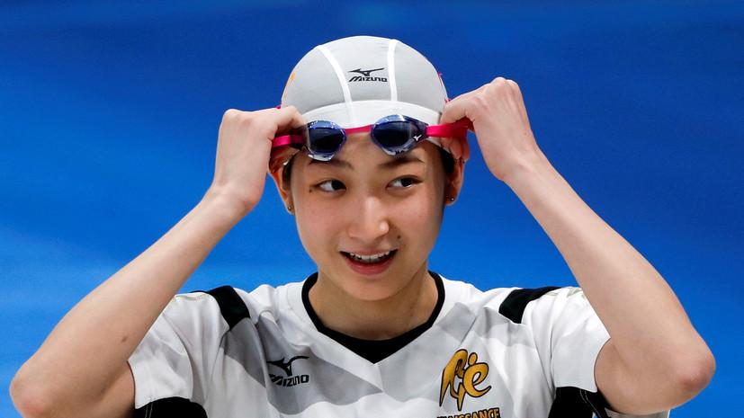 Победившая рак японская пловчиха выступит на Олимпийских играх