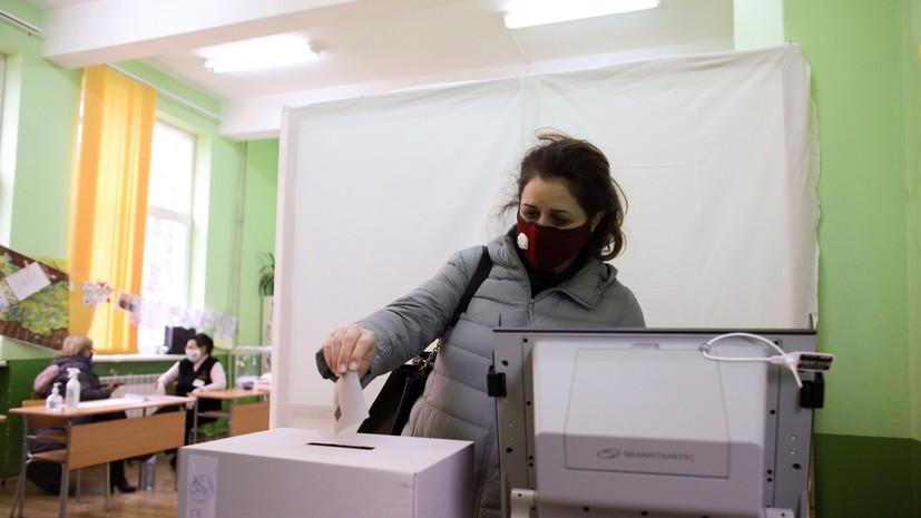 Экзитпол показывает победу партии ГЕРБ на парламентских выборах в Болгарии