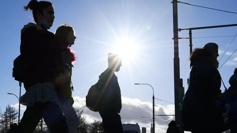 В Москве синоптики обещают потепление до +10 °С