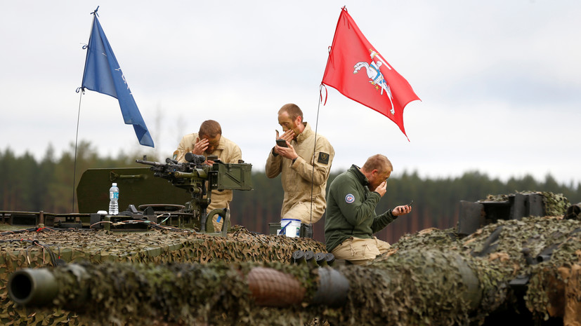 В Латвии стартовали учения НАТО