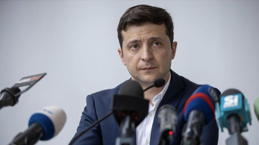 В Киеве анонсировали переговоры Зеленского, Макрона и Меркель