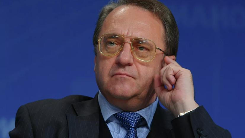 Богданов провёл встречу с послом Египта в России