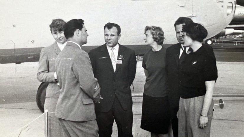 «Не каждый смог бы выдержать такое преклонение»: переводчица Гагарина о его участии в авиасалоне в Ле Бурже
