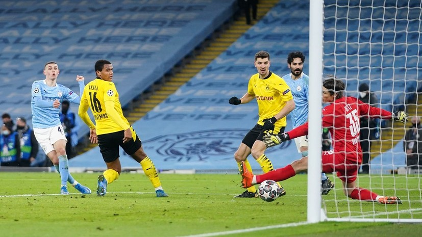 Дубль Винисиуса и настойчивость Фодена: как «Реал» и «Манчестер Сити» выиграли первые матчи 1/4 финала Лиги чемпионов