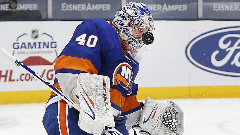 Варламов признанвторой звездойдня НХЛ, Панарин— третьей
