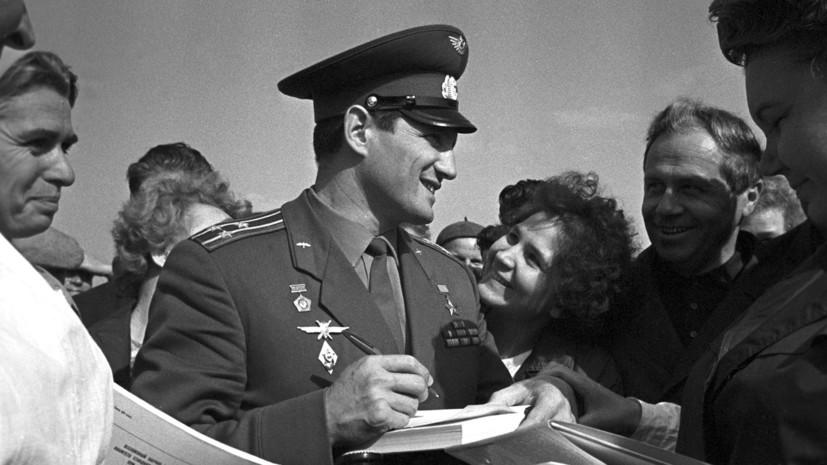 Лётчик-космонавт Борис Волынов. Фото РИА Новости