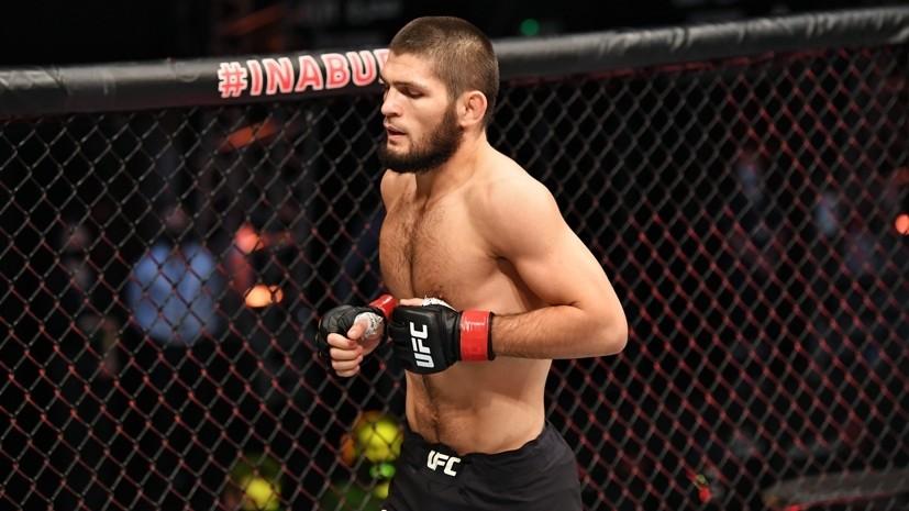 Нурмагомедов вспомнил, как завоевал титул чемпиона UFC