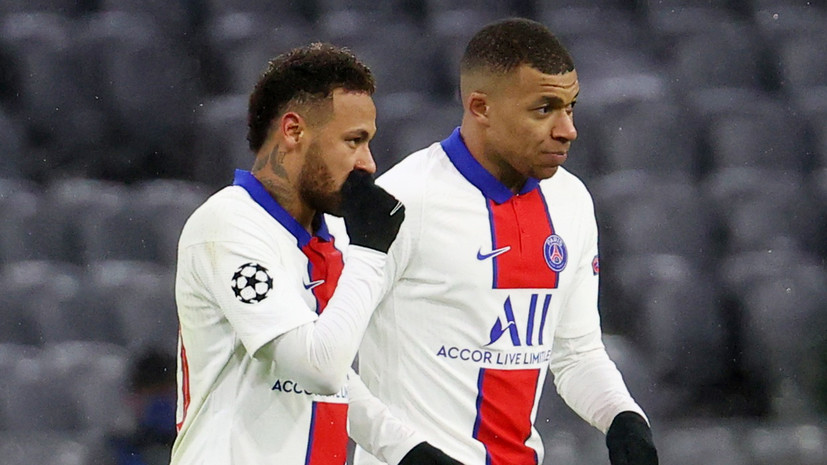Дубль Мбаппе помог ПСЖ обыграть «Баварию» в первом матче 1/4 финала ЛЧ