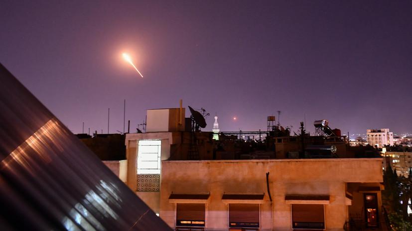 SANA: при израильском авиаударе по Сирии пострадали четверо военных
