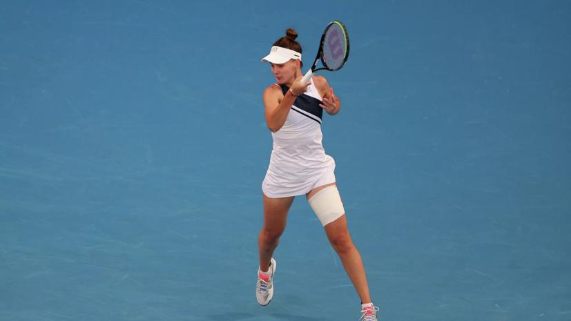 Кудерметова обыграла Нару и вышла в четвертьфинал турнира WTA в Чарльстоне