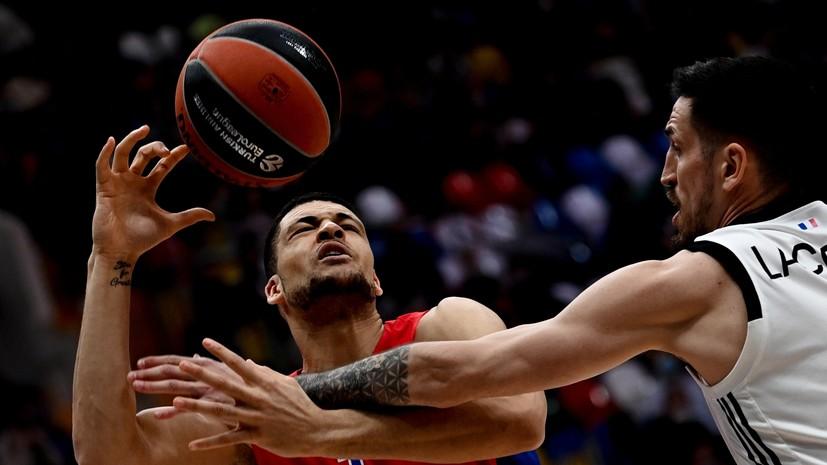ЦСКА победил АСВЕЛ в баскетбольной Евролиге