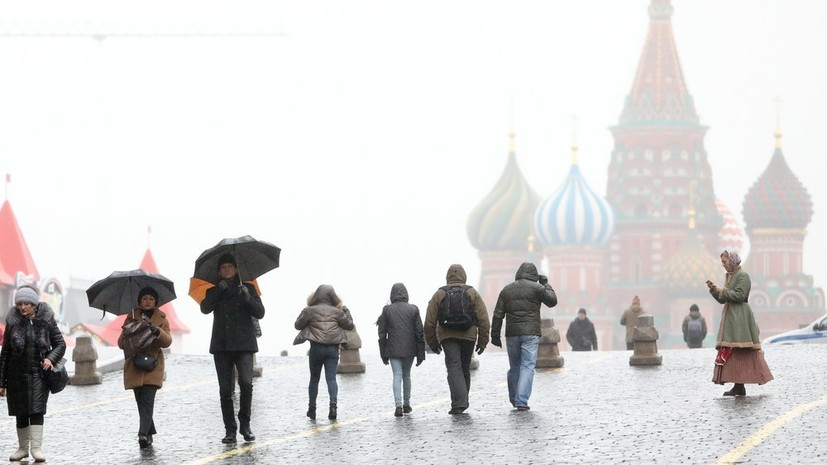 В Москве за сутки выпало более 20% месячной нормы осадков