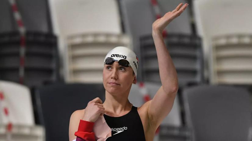 Тренер подвела итог выступлению Фесиковой на ЧР по плаванию