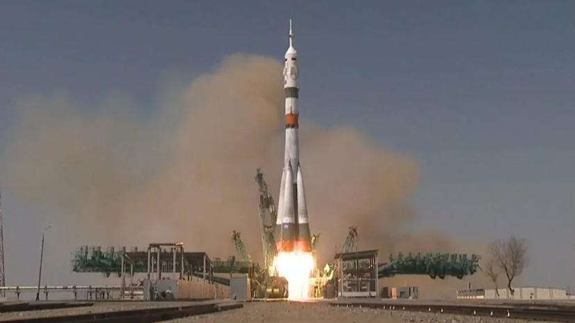 Космический корабль «Ю.А. Гагарин» выведен на орбиту