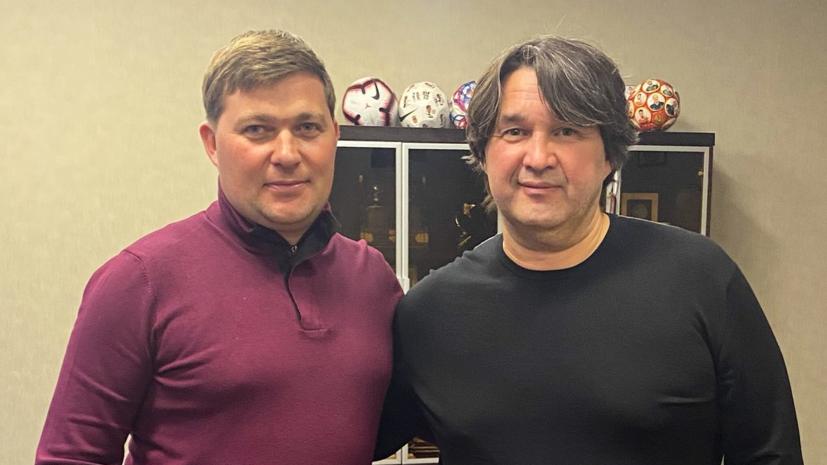 Стукалов назначен главным тренером «Уфы»