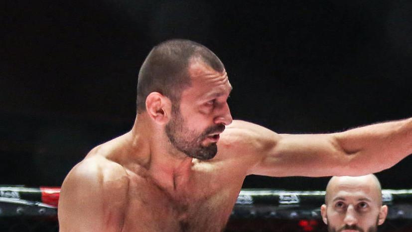 Гасанов победил Дипчикова и стал временным чемпионом ACA в среднем весе