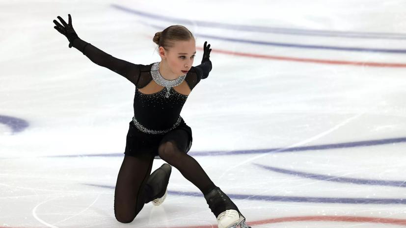 Ученица Плющенко исполнила четверной сальхов на тренировке