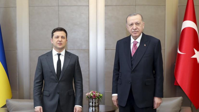 Эрдоган изложил Зеленскому позицию Турции по Крыму