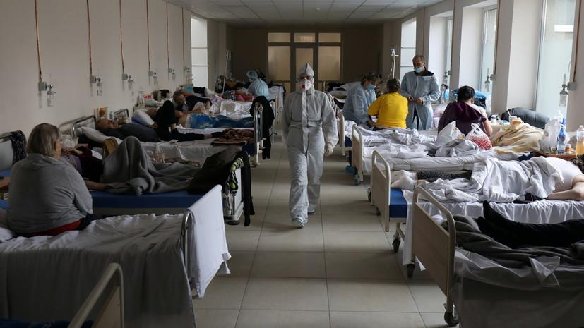 Число случаев коронавируса на Украине достигло 1 853 249