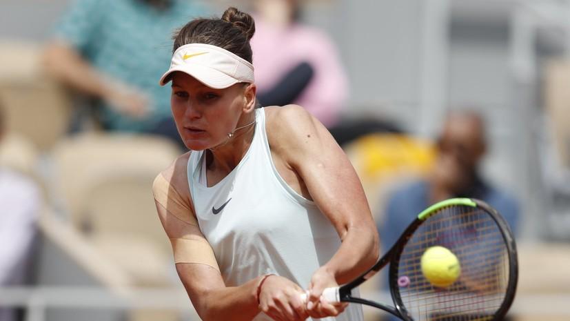 Теннисистка Кудерметова рассказала о симпатии к Нурмагомедову