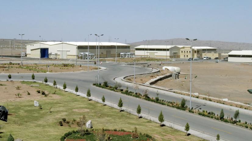 Иран заявил о диверсии на ядерном объекте в Натанзе