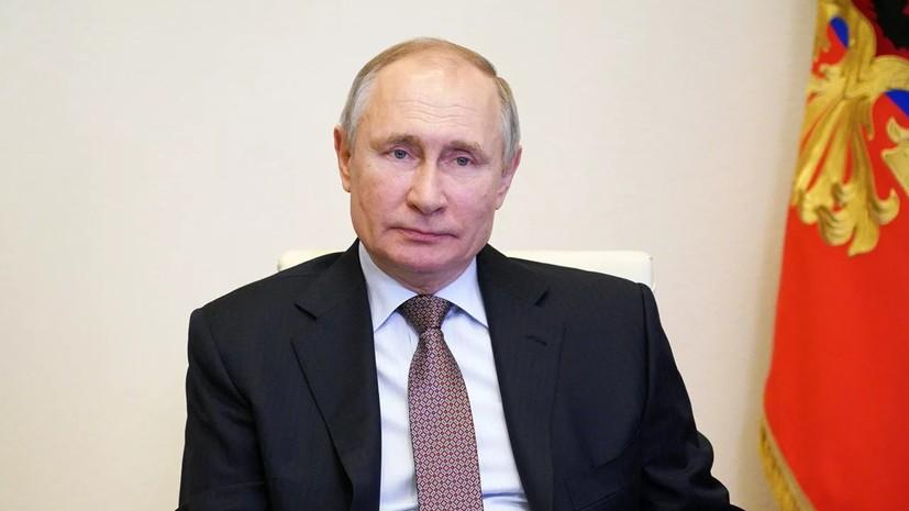 Путин поручил разработать меры стимулирования бизнеса к инвестициям