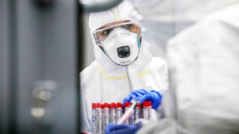 В России выявили 8320 случаев коронавируса за сутки