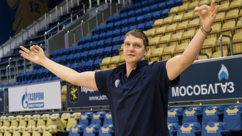 «Принял решение, что хочу помочь команде»: баскетболист Мозгов попал в заявку на матч впервые с 2018 года