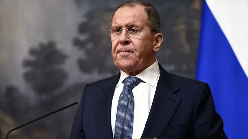 Лавров заявил, что Киев ведёт войну против собственного народа