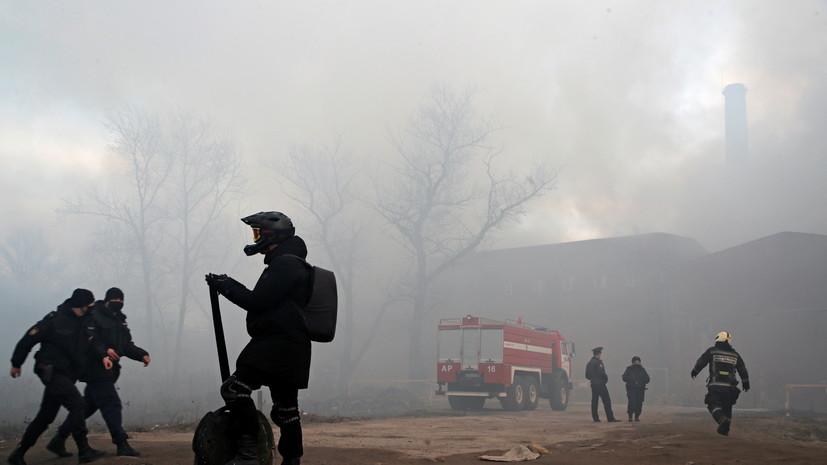 Дело о пожаре на Невской мануфактуре передано в центральный аппарат СК