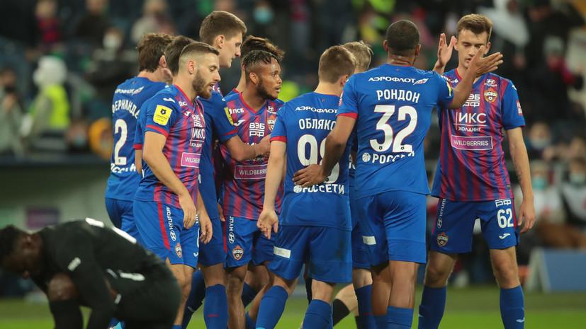 ЦСКА обыграл «Ротор» в РПЛ благодаря голам Эджуке и Рондона