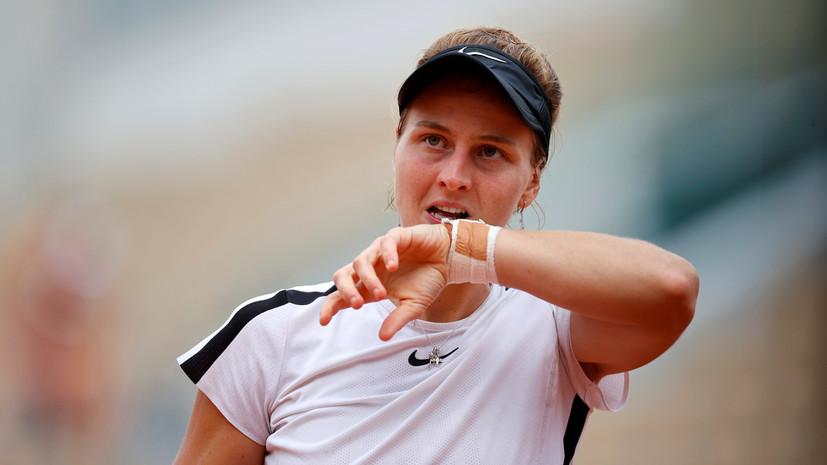 Самсонова не вышла во второй круг турнира WTA в Чарльстоне