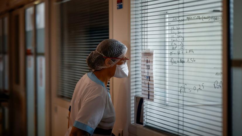 Во Франции за сутки выявили более 8 тысяч случаев коронавируса