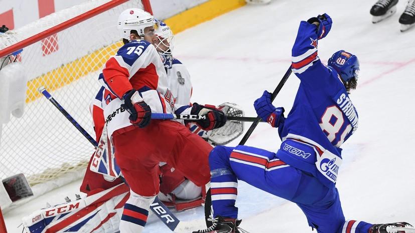 Брагин подвёл итоги серии между СКА и ЦСКА в плей-офф КХЛ